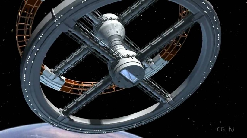2001 Space Odyssey Space Station