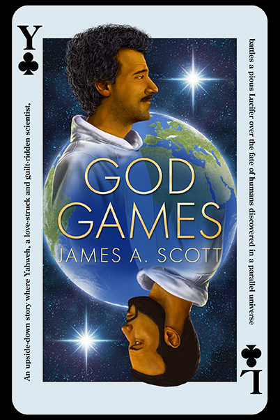 God Games- A New Book Cover and A Darkside